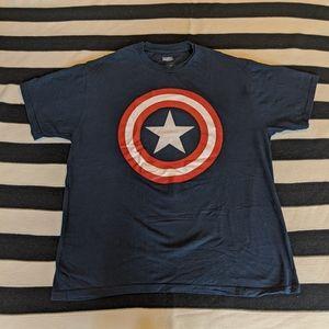 MARVEL Captain America Men's T-shirt